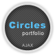 Circles - Ajax Portfolio Template - ThemeForest Item for Sale
