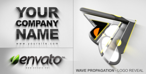After Effects Project - VideoHive Wave Propagation Logo Reveal 2618313