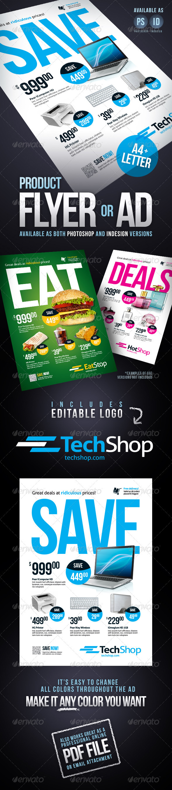 GraphicRiver Product flyer Ad 2621976