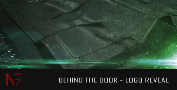 VideoHive Behind The Door Logo Reveal 2627636