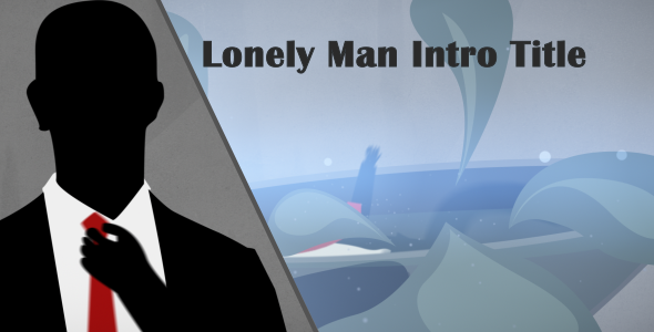 VideoHive Lonely Man Intro Title 2618309