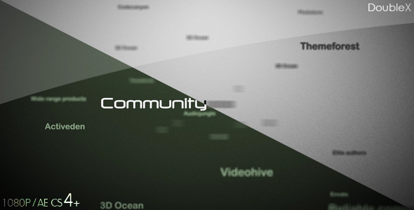 VideoHive Word Cloud Logo Reveal 2629144
