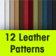 12 Seamless Leather Patterns - GraphicRiver Item for Sale