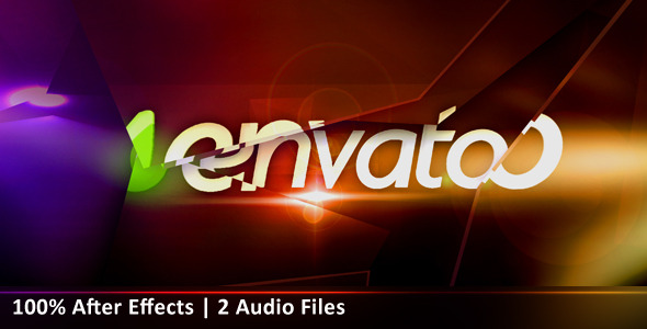 After Effects Project - VideoHive Glassy Logo Animation 2630384