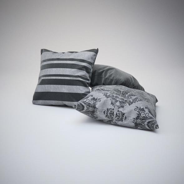 3DOcean Photorealistics Pillows 2630390