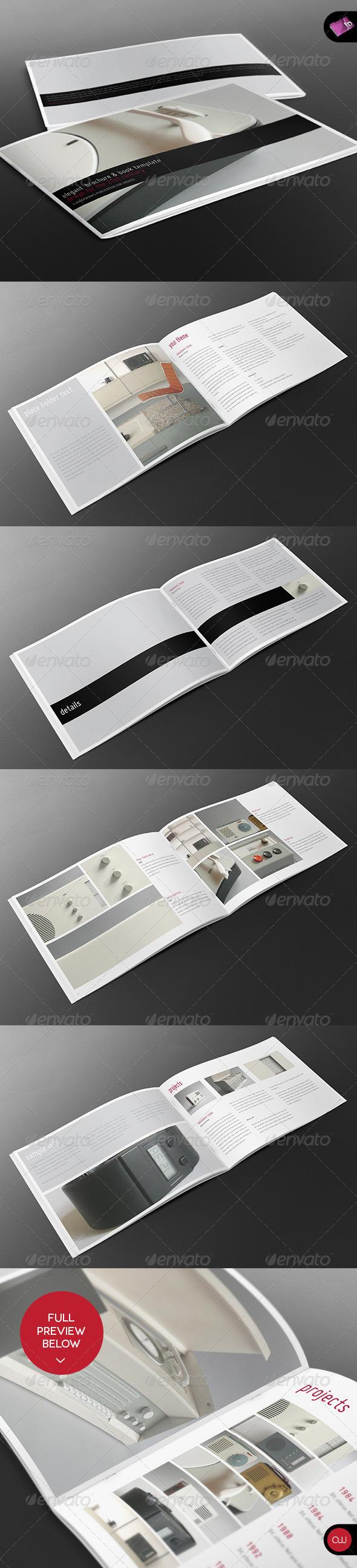 GraphicRiver Book & Brochure Elegant Series Vol.2 2625582