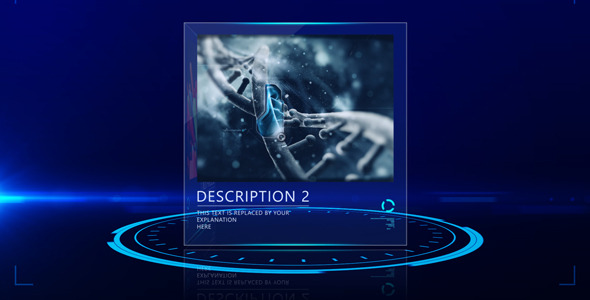 After Effects Project - VideoHive Futuristic Display 2629398