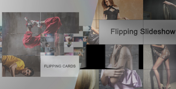 After Effects Project - VideoHive Flipping Cards 2-In-1 2569533