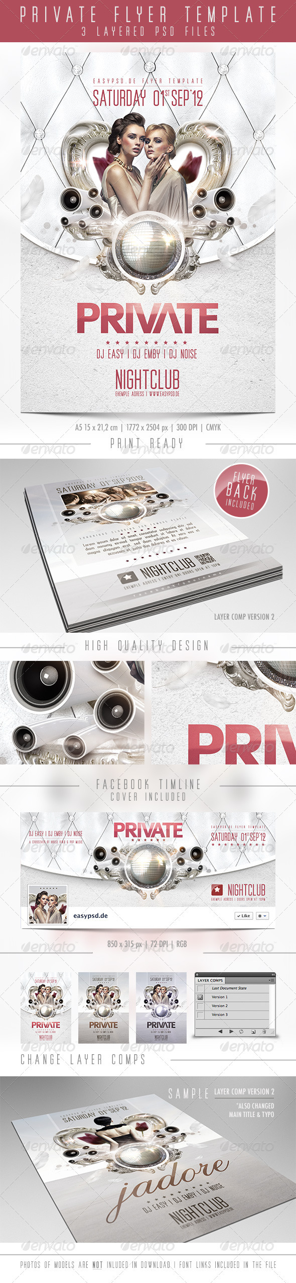 GraphicRiver Private Flyer Template 2633933