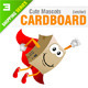 4 Cardboard Mascots - GraphicRiver Item for Sale