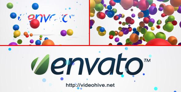 VideoHive Bubble Logo Intro 2635687