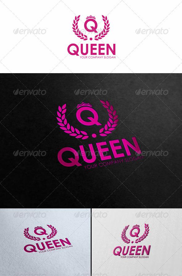 GraphicRiver Queen Fashion Logo Template 2630416