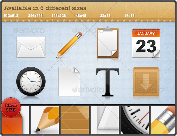 GraphicRiver High Quality Premium Icons Set 3 94676
