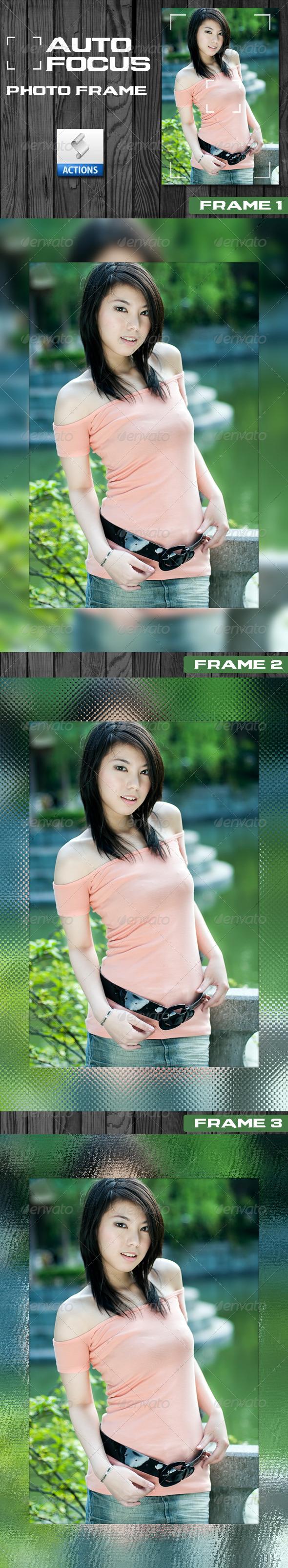 GraphicRiver Auto Focus Photo Frame Set #1 294064