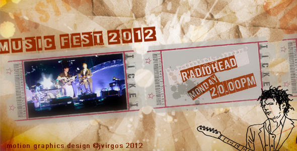 After Effects Project - VideoHive Music Festival Promo Billboard 2640829