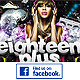 Eighteen Plus Facebook Timeline Cover - GraphicRiver Item for Sale