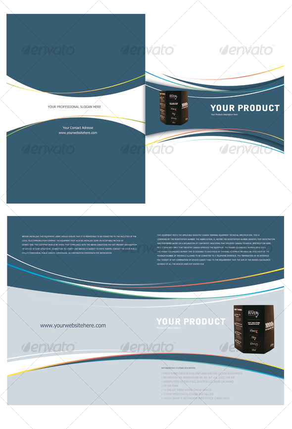 GraphicRiver Product Lunch Brochure 95726