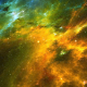 Abstract Nebula Space Travel Looped Background - VideoHive Item for Sale