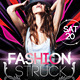 Fashion Struck Party Flyer - GraphicRiver Item for Sale