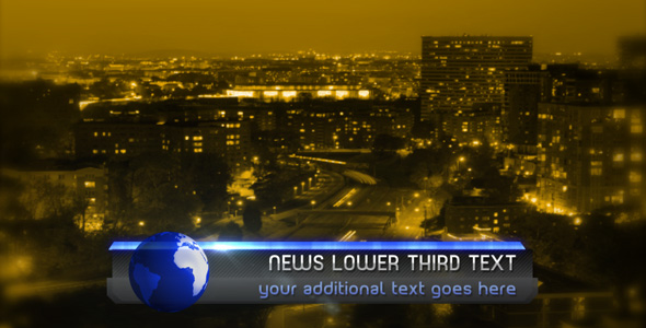After Effects Project - VideoHive Business Lower Third 95933
