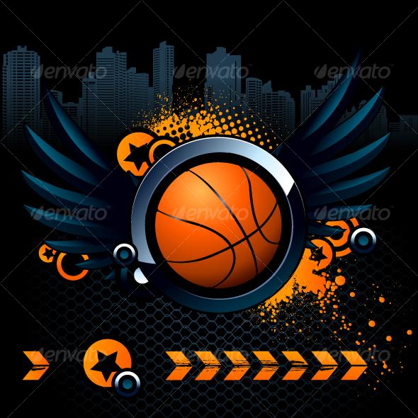 GraphicRiver Basketball Modern Image 95985