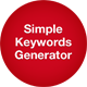 Simple Keywords Generator - CodeCanyon Item for Sale