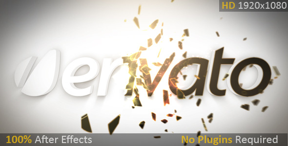 After Effects Project - VideoHive Particle Shatter Reveal 2658335
