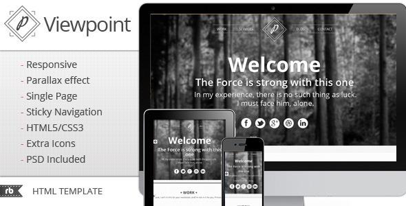 Best 2012 parallax scrolling website templates entheos for Html5 parallax scrolling template free