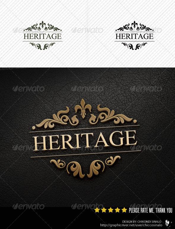 GraphicRiver Heritage Logo Template 2660939