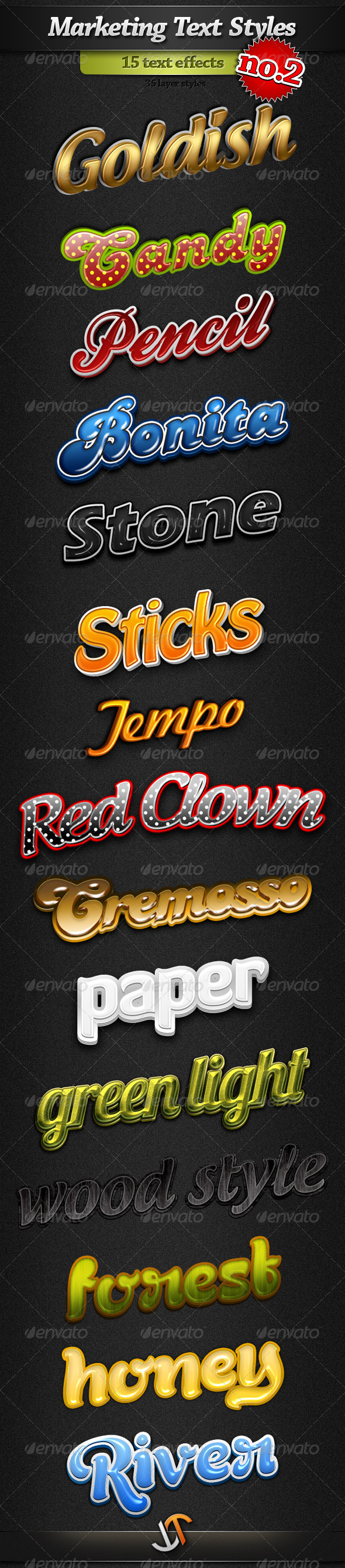 GraphicRiver Marketing Text Styles Pack 2 2661091