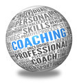 Coaching concept in sphere tag cloud - PhotoDune Item for Sale