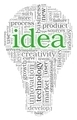 Idea concept words in tag cloud - PhotoDune Item for Sale