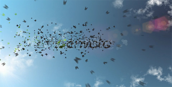 After Effects Project - VideoHive Butterfly Logo Hide 96300
