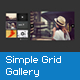 Simple Image/Video Grid Gallery - ActiveDen Item for Sale