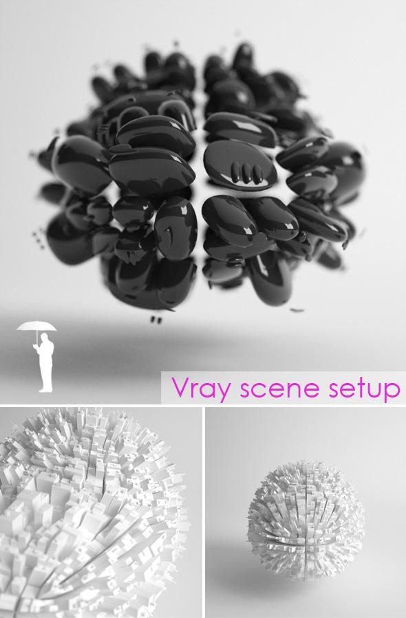 3DOcean Studio scene setup for VRAY 2663907