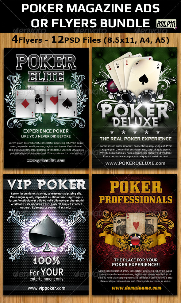 Advertisement Templates Free Free Poker Flyer Template