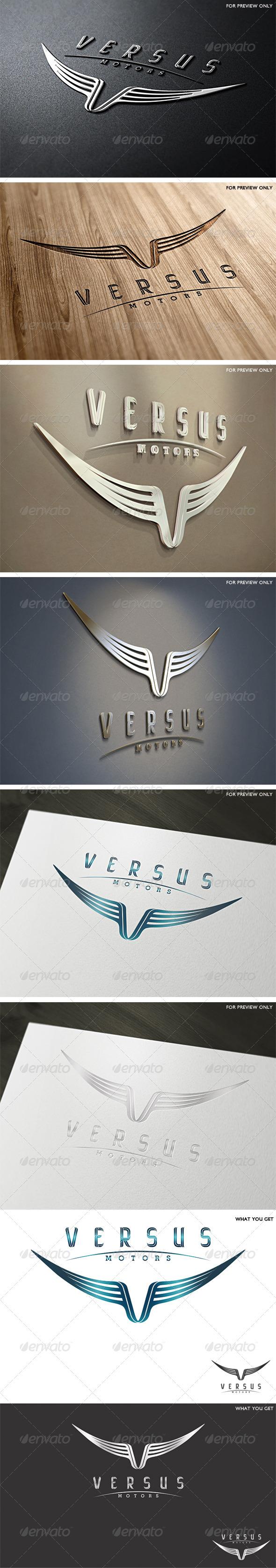 GraphicRiver Versus Motors Logo Template 2449902