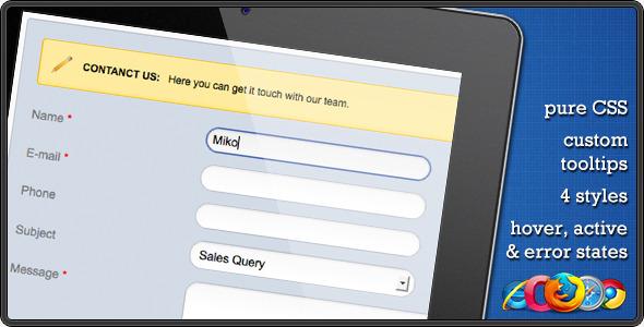 CodeCanyon CSS Contact Form 241315