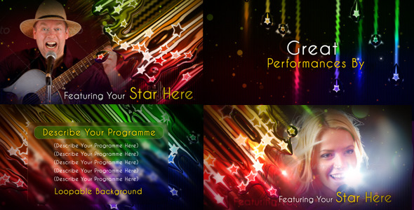 After Effects Project - VideoHive Favorite Stars 2667110