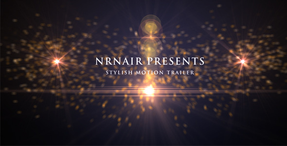 After Effects Project - VideoHive Smooth Motion Trailer 2667539