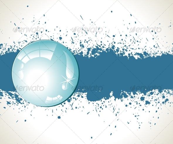 GraphicRiver Abstract splashes background Vector illustration 96440