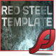 Red Steel XML Website Template - ActiveDen Item for Sale
