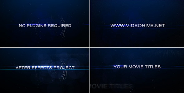 After Effects Project - VideoHive Distort Trailer 2668787