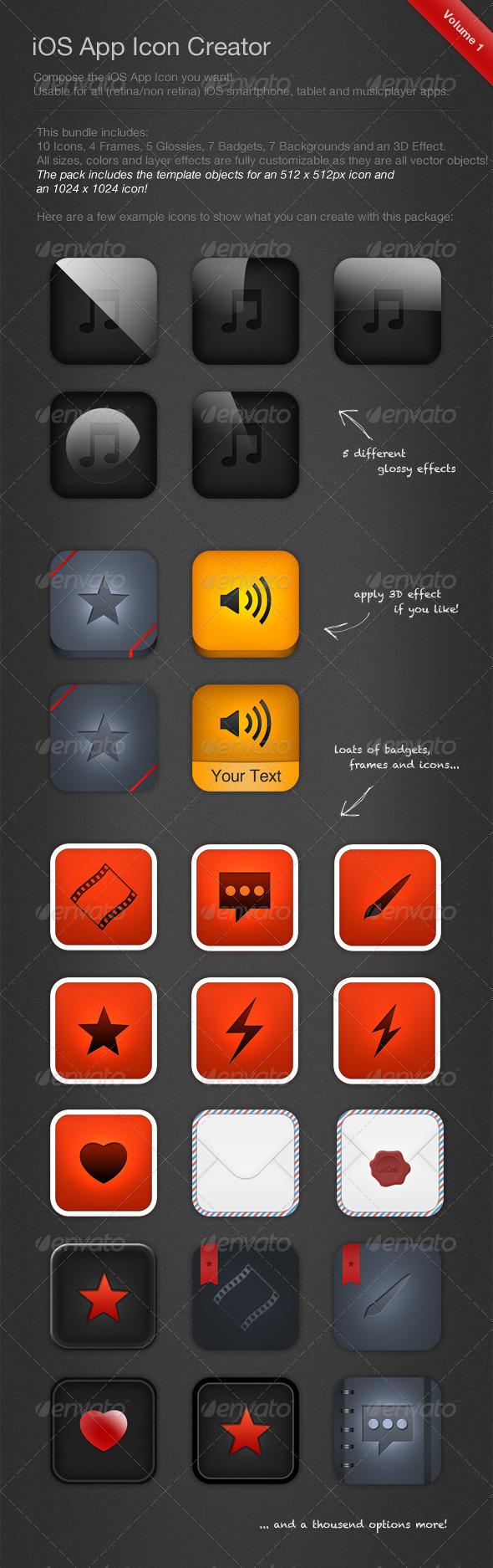 GraphicRiver iOS Icon Creator 1800319