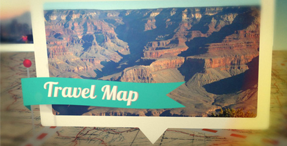 After Effects Project - VideoHive Travel Map 297100
