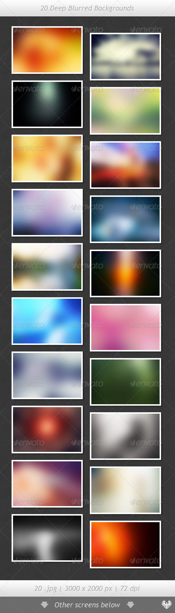 GraphicRiver 20 Deep Blurred Backgrounds 2686861