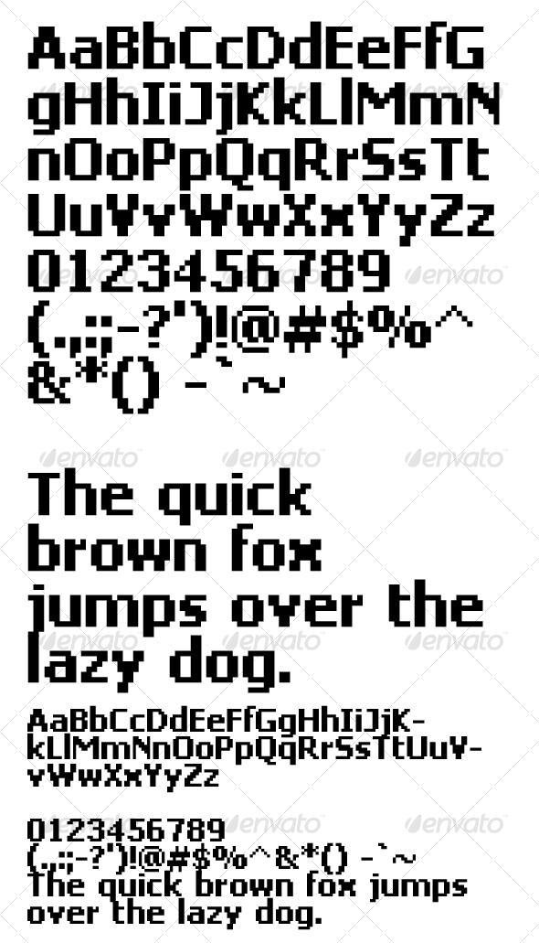 GraphicRiver Deluxe Bold 20414