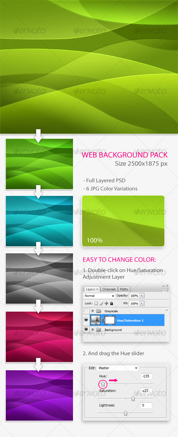 GraphicRiver Abstract Background 97538