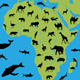 Animals of Africa - GraphicRiver Item for Sale