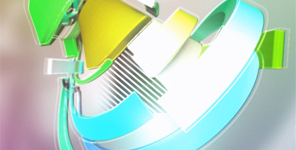 After Effects Project - VideoHive Rainbow Logo 2694903